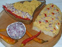 Rozi erdélyi,székely konyhája: Töpörtyű krém Guacamole, Dairy, Rice, Cheese, Ethnic Recipes, Desserts, Food, Red Peppers, Tailgate Desserts