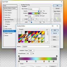 Создаём абстрактные световые спирали в Фотошоп