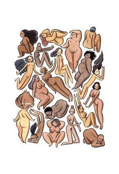 Mujeres de todo el mundo se sumaron al paro de mujeres para reivindicar nuestro papel en la sociedad. Aquí, 66 ilustraciones creadas por mujeres para la ocasión.
