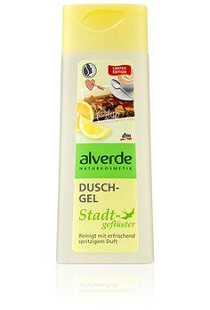 Duschgel Stadtgefluester, Alverde (gel douche odeur pâtisserie)