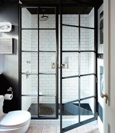 If you are confused what kind of shower room design suits your room. Below you can select design trend shower room. Inspiration design shower room that will make your room look amazing. Bad Inspiration, Bathroom Inspiration, Interior Inspiration, Bathroom Renos, Master Bathroom, Serene Bathroom, Bathroom Doors, Bathroom Ideas, Shower Bathroom