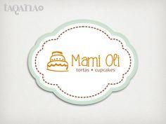 MAMI OLI logotipo creado para una empresa de venta y producción de pasteleria