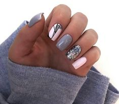Want some ideas for wedding nail polish designs? This article is a collection of our favorite nail polish designs for your special day. Read for inspiration Nail Polish Designs, Acrylic Nail Designs, Nail Art Designs, Square Acrylic Nails, Square Nails, Cute Nails, Pretty Nails, Jolie Nail Art, Nailart