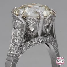 European Diamond Engagement Ring - fay cullen