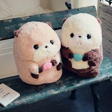 Nooer Kawaii Cute Fluffy Plush Otter Toy Stuffed Plush Animals Otter Dolls Kid Children Girlfriend Birthday Gift Free Shipping(China) #girlfriendbirthday