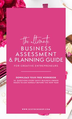The Ultimate Business Assessment and Planning Guide for Small Business Owners - Free Workbook! Building A Business Plan, Creating A Business, Starting A Business, Business Planning, Business Tips, Brand Building, Online Entrepreneur, Business Entrepreneur, Business Marketing