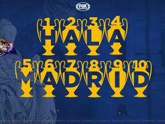 R.M.C.L.W.F. = REAL MADRID CHAPIONS LEAGUE WINNERS FORREVER Hala Madrid !!!