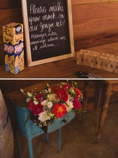 A Country Love Feast I Rockhaven Farm, Elgin Valley I Dylan and Genevieve Wedding Tips, Wedding Favors, Destination Wedding, Dream Wedding, Jenga Guest Book, Guest Book Table, Love Feast, Reception Decorations, Reception Ideas