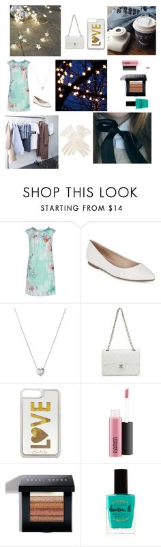 """""""Eliza Schuyler Hamilton"""" by jules16280 ❤ liked on Polyvore featuring KS Selection, BCBGeneration, Links of London, Chanel, Edie Parker, Bobbi Brown Cosmetics, Lauren B. Beauty and plus size dresses"""