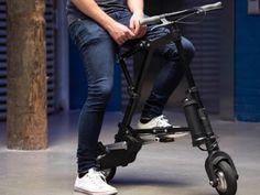 通勤に最適?!小さく折りたためる電動自転車がクール! | Techable(テッカブル)