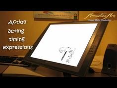 Pencil animations showing action, acting, timing and expressions