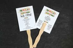 Programs that double as fans will keep guests cool on a hot day. | 19 Wedding Planning Hacks That Will Save You So Much Time And Money