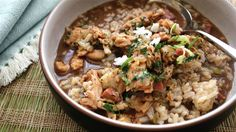 Have lots of leftover turkey? Skip the boring next-day sandwiches and make chef David Slater's hearty turkey gumbo instead.