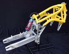 A-N-D motorcycle frame by Julian Farnam