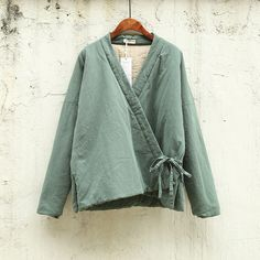 Cheap linen hospital, Buy Quality coat fox directly from China coat of arm designs Suppliers: Bust About the cotton and linen,you need to know: About color difference: Coats For Women, Jackets For Women, Linen Jackets, Chinese Clothing, Cotton Style, Quilted Jacket, Mode Inspiration, Diy Clothes, Winter Outfits