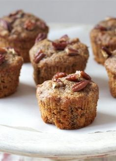 Spiced Sweet Potato Muffins - These muffins are absolutely delicious – they remind me of moist and cinnamony carrot cake.  I prefer to serve in muffin portions as opposed to bread, but you could convert the recipe and make as a loaf.  Spread with smear of grass fed butter and serve slightly warm or serve …