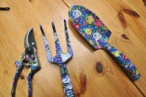 GARDEN TOOLS FOR YOUNG PEOPLE- SPADE, CLIPPER, FORK