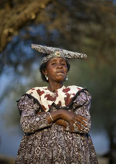 Herero woman - Namibia | In Opuwo, Namibia, lot of Herero pe… | Flickr