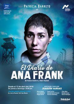 LIMA VAGA: El Diario de Ana Frank en el Teatro Mario Vargas L...