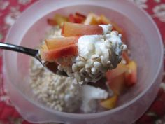 Overnight Barley (I have a huge bag of barley in the freezer. I've been making overnight oats for breakfast. I'll try this :)