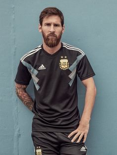 Most Beautiful Manchester United Wallpapers 2018 Adidas Argentina Soccer Jersey Away 18 Argentina World Cup, Argentina Soccer, Messi Argentina 2018, God Of Football, Best Football Team, Adidas Football, Football Soccer, Lionel Messi Haircut, Manchester United