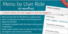 This Deals Menu by User Role for WordPressso please read the important details before your purchasing anyway here is the best buy