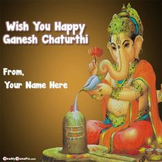Wish you happy ganesh chaturthi wishes images with name greeting card, special my name writing latest best collection 2020 pictures vanayaka chaturthi quotes, make your name new beautiful bal ganesha chaturthi pic, whatsapp status sending unique ganesh chaturthi photos, online customized name generator option ganesh chaturthi wallpapers download free. New Quotes, Family Quotes, Happy Quotes, Love Quotes, Funny Quotes, Happiness Quotes, Happy Ganesh Chaturthi Wishes, Happy Ganesh Chaturthi Images, Flower Quotes Love