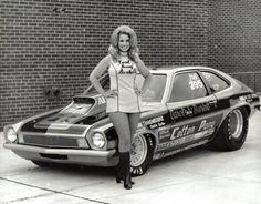 "Drag racer Carol ""Bunny"" Burkett"