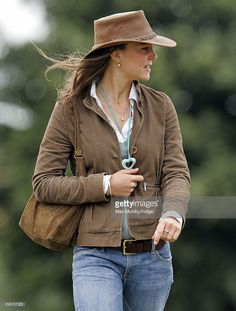 Kate Middleton attends the Festival of British eventing at gatcombe