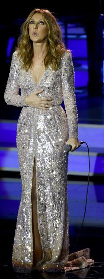 Celine Dion returns to the stage on Thursday in Las Vegas.