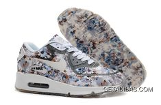 buy online b5c8a cd279 Nike Air Max 90 Floral Print Womens Gray Wild Rose Training Shoes TopDeals,  Price   78.45 - Adidas Shoes,Adidas Nmd,Superstar,Originals