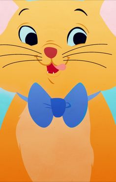 """Toulouse from """"The Aristocats"""" iPhone background by PetiteTiaras"""