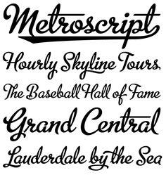 Metroscript - Beer font idea