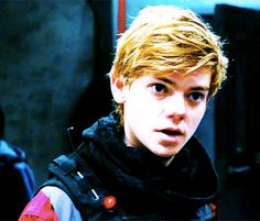 Maze Runner: The Death Cure - Newt gif - Minho comes first, remember?