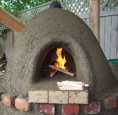 Sue, I am wanting to make one of these- it is a mixture of clay and straw, I had been wondering where to get the clay from..? Cob Oven-step by step pics