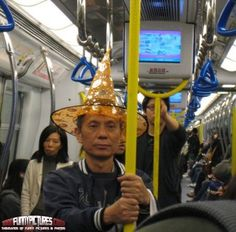 Off to Fight the Subway Balrog – WTF Pictures