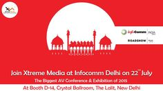 Reach & influence your customers with revolutionary digital displays at Info Comm Delhi with us.