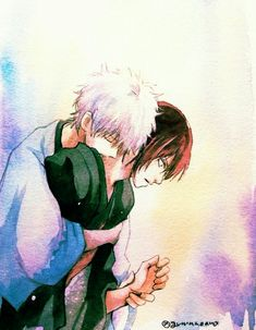 Gintoki x Who? Anime Chibi, Anime Poses Reference, Anime Love Couple, Fan Art, Manga, Ship, Characters, Future, Twitter
