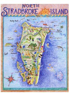 Map of straddie