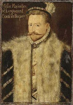 Maximilien de Longueval, 1er. Comte de Bucquoy, Baron de Vaulx (1537 - 1581).