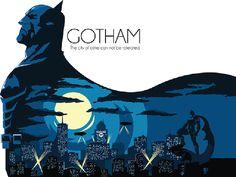 BATMAN AND GOTHAM by Julio pozo