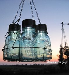 Diy Mason Jar Chandelier Light Hanging Mason Jar