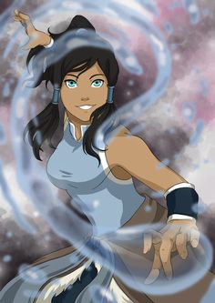 Korra is the current incarnation of the Avatar and immediate successor of Avatar Aang. Avatar Airbender, Avatar Aang, Suki Avatar, Avatar Legend Of Aang, Team Avatar, Legend Of Korra, Female Characters, Anime Characters, Avatar Picture