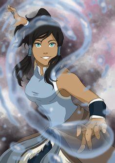 Avatar Korra by momofukuu.deviantart.com