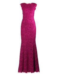 Fishtail lace gown | Dolce & Gabbana | MATCHESFASHION.COM