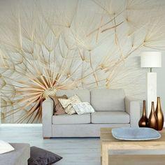 White FLowers Living Room Wall Murals Full of Flowers Wall Murals Decoration Modern Wallpaper, Of Wallpaper, Photo Wallpaper, Dandelion Wallpaper, Wallpaper Designs, Beautiful Wallpaper, Textured Wallpaper, Wallpaper Ideas, Flower Wallpaper