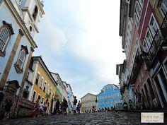 Conheça Salvador, Bahia, Brasil. largo do peloruinho