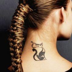 Increíbles diseños de tatuajes en la nuca para mujeres según las últimas tendencias Caprese Appetizer, Appetizers, Canapes, Tattoos, Ideas, Cocktail, Amor, Home, Healthy Snacks