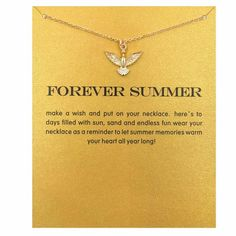 Forever Summer Love Pigeon Necklace Gold Plated  https://www.yubyjewelry.com/new-products-1/forever-summer-love-pigeon-necklace-gold-plated