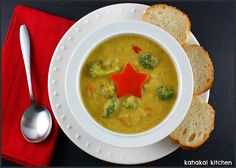 The craving hit for broccoli-cheese soup and I wanted one without the dairy and the calories and fat it brings. Originally I was going to...